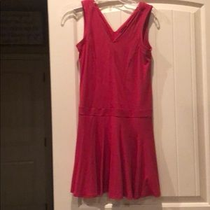 Ann taylor petite red pullover dress NWT